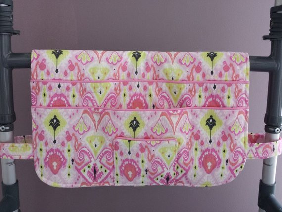 Beautiful Walker Bag Walker tote Walker organizer Walker by Craftywanda Walker organizer Of Adorable 50 Images Walker organizer