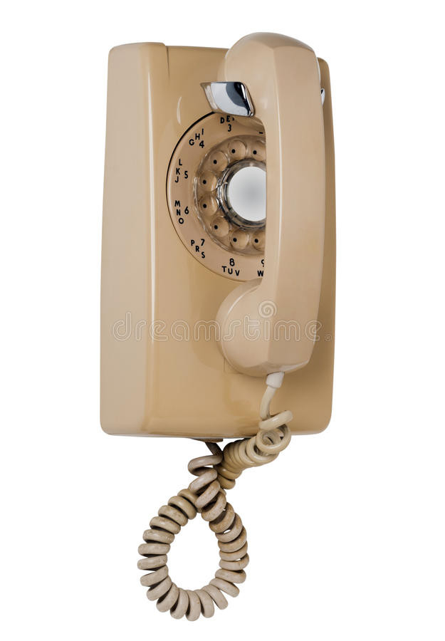 Beautiful Wall Rotary Phone isolated Stock Image Of Revival Old Fashioned Wall Phone Of Charming 47 Models Old Fashioned Wall Phone