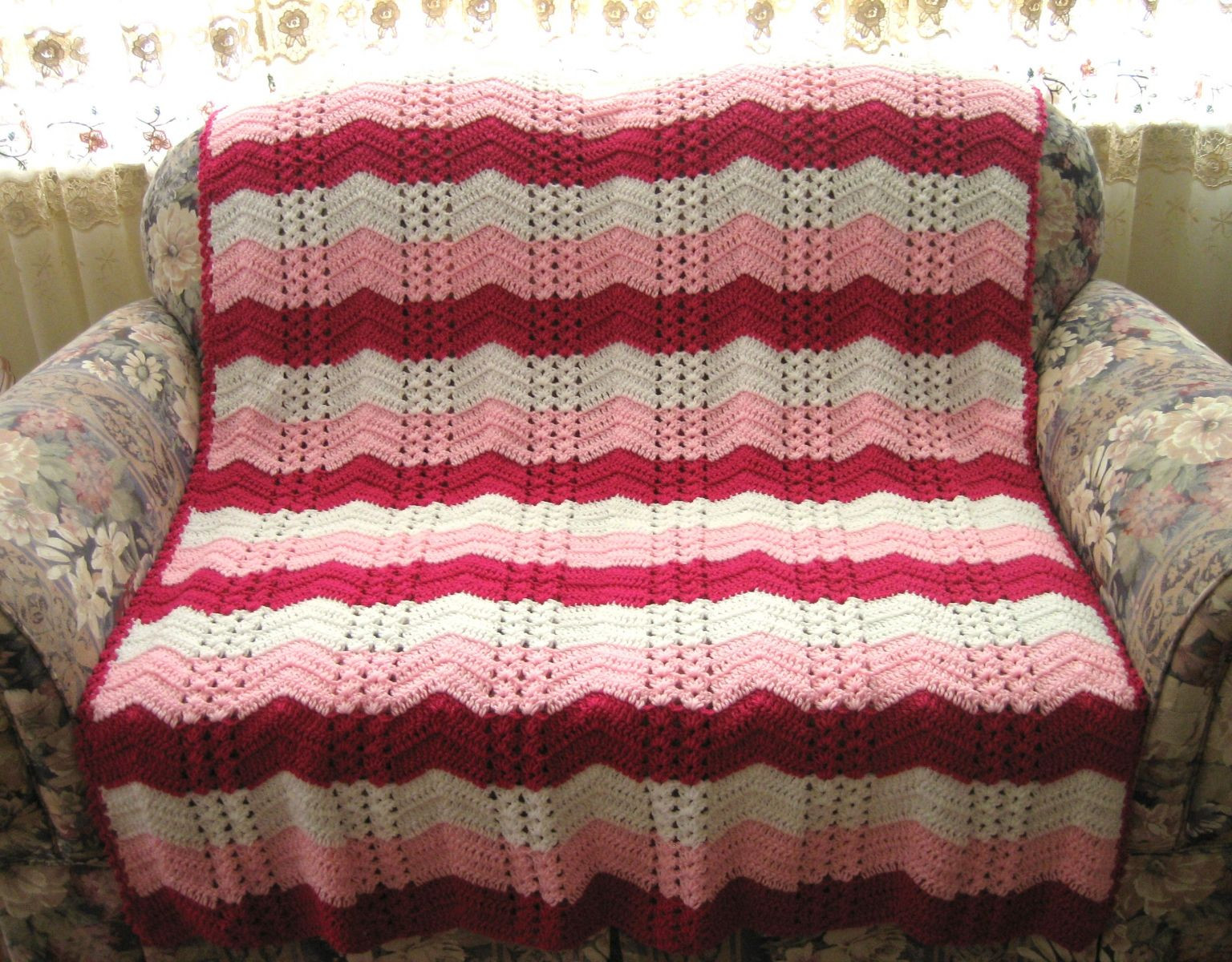 Beautiful White Chocolate Strawberry Double Shell Ripple Double Crochet Afghan Of Fresh 42 Images Double Crochet Afghan
