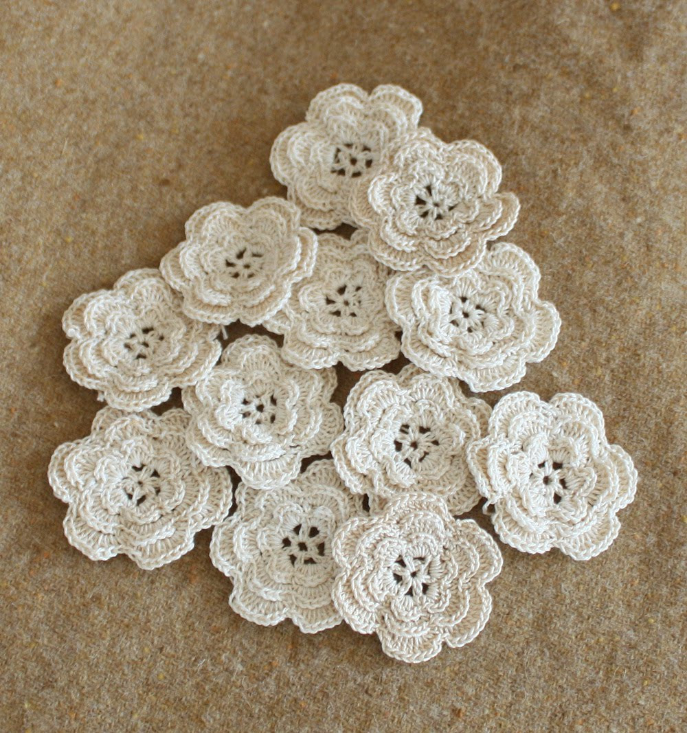 Beautiful Wild Rose Vintage Crochet Flowers and Rick Rack Roses Vintage Crochet Of Perfect 44 Models Vintage Crochet
