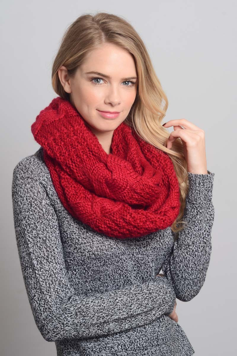 Beautiful Winter Cable Knit Infinity Scarf Cable Scarf Of Innovative 49 Ideas Cable Scarf