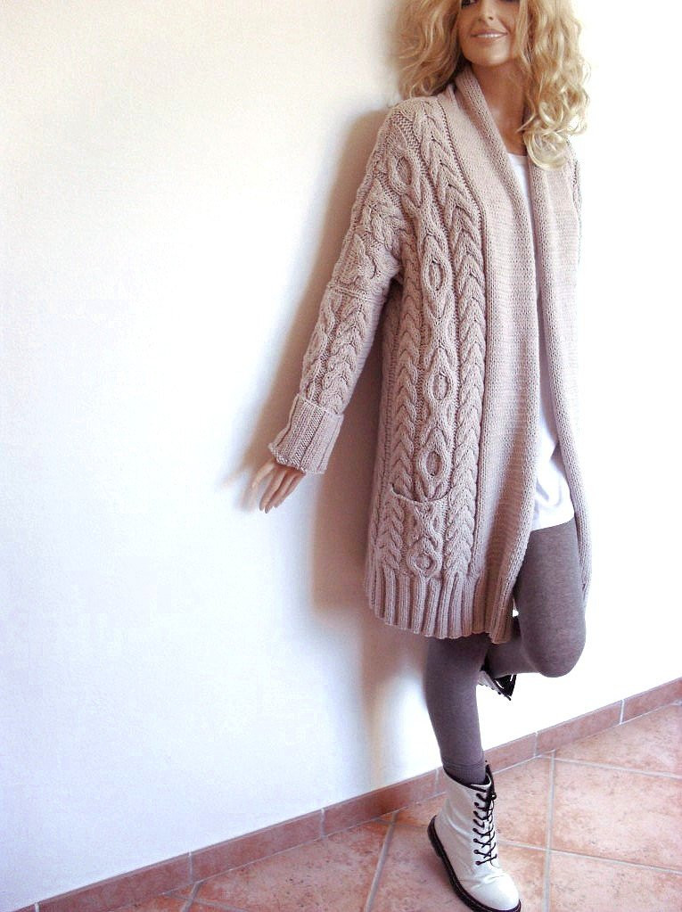 Beautiful Women S Cable Knit Sweater Knitted Merino Wool Cardigan Cable Knit Cardigan Sweater Of Wonderful 46 Models Cable Knit Cardigan Sweater