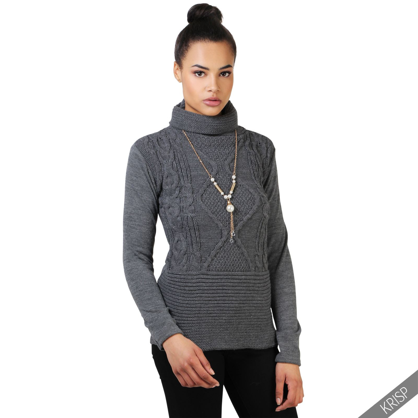 Beautiful Womens Cable Knit Turtle Polo Funnel Neck Jumper La S Ladies Cable Knit Sweater Of Charming 49 Photos Ladies Cable Knit Sweater