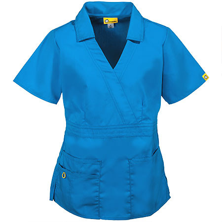 Beautiful Wonderwink Scrubs Women S Blue Cotton Blend Fitted Scrub Cotton Scrubs Of Attractive 47 Models Cotton Scrubs