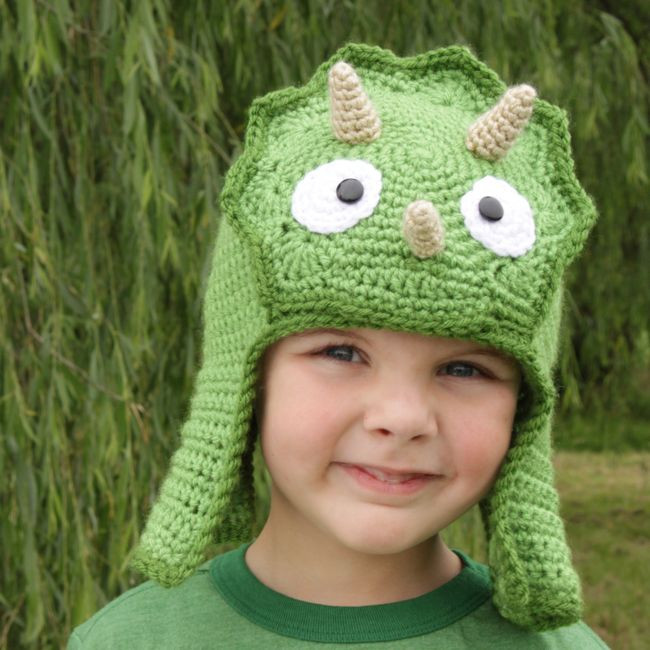 Beautiful Worsted Weight Triceratops Hat Crochet Dinosaur Hat Of Beautiful 44 Photos Crochet Dinosaur Hat