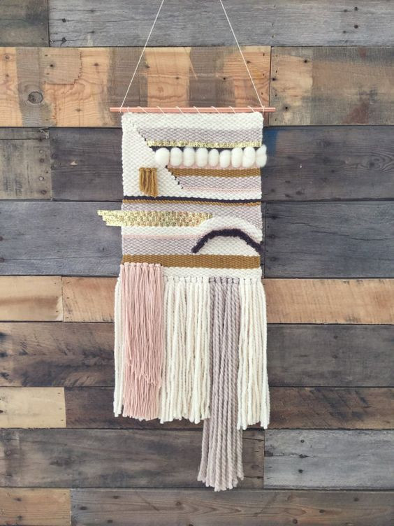 Beautiful Woven Yarn Wall Hangings for 2016 Jennifer Rizzo Weaving Wall Hanging Of Brilliant 43 Models Weaving Wall Hanging
