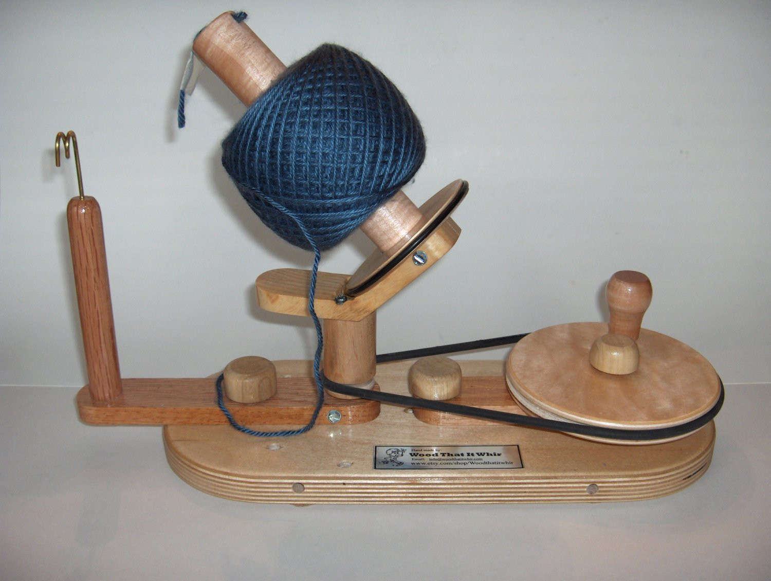 Beautiful Yarn Ball Winder by Wood that It Whir Handmade by Ball Winder Of Charming 40 Models Ball Winder