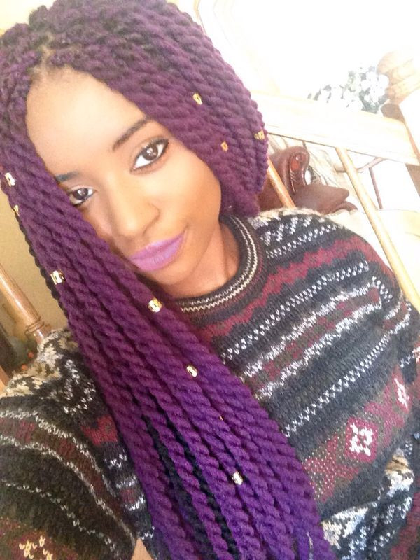 Beautiful Yarn Braids Hairstyles Best Of Yarn Braids Crochet Yarn Twist Of Delightful 44 Models Crochet Yarn Twist