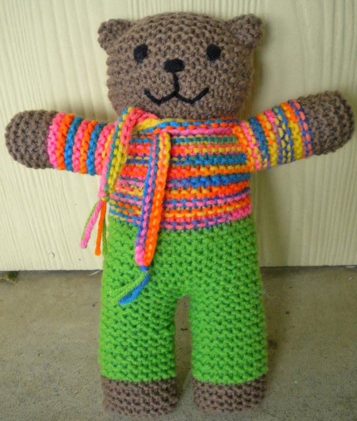 Beautiful Yarngear Knitting Crochet Spinning Sewing Weaving Knitted Bear Pattern Of Brilliant 42 Photos Knitted Bear Pattern