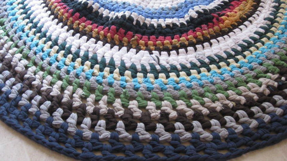 Beautiful You Have to See T Shirt Rag Rug On Craftsy T Shirt Rug Crochet Of Amazing 48 Pics T Shirt Rug Crochet