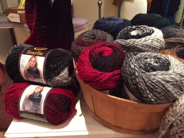 Beautiful You're E Skein Away From the Perfect Scarfie Lion Brand Scarfie Of Lovely 48 Photos Lion Brand Scarfie