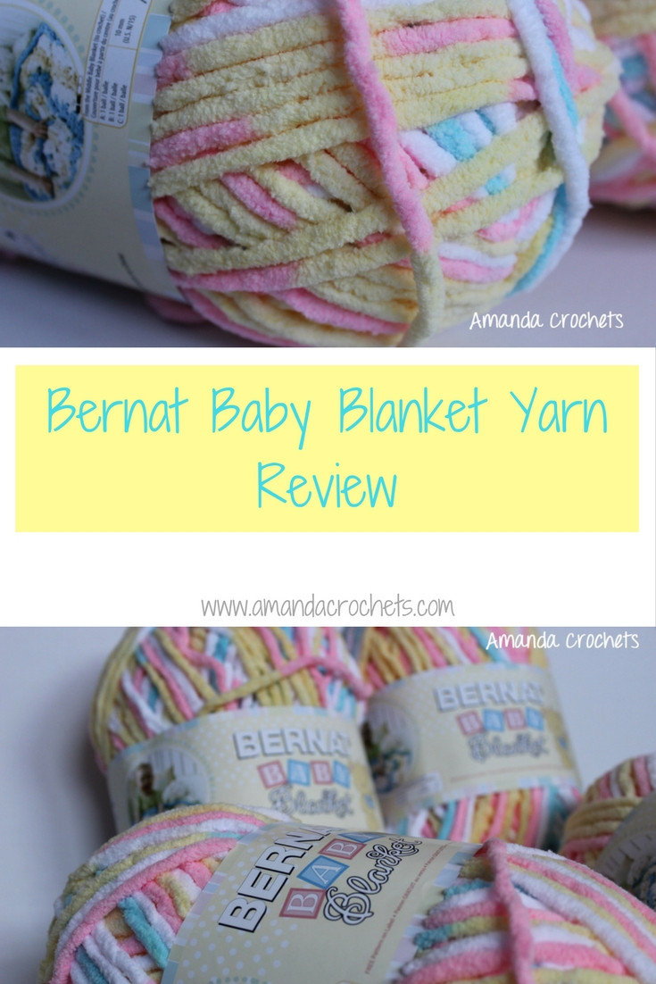 Bernat Baby Blanket Yarn Best Of Bernat Baby Blanket Yarn Review Amanda Crochets Of Delightful 42 Models Bernat Baby Blanket Yarn