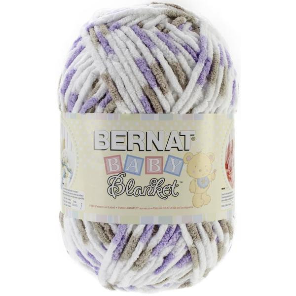 Bernat Baby Blanket Yarn Little Lilac Dove – Kay s Crochet