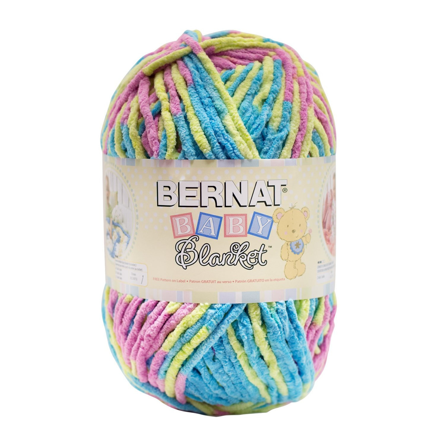 Bernat Baby Blanket Yarn Lovely Bernat Baby Blanket Yarn In Jelly Beans 300 Gram Of Delightful 42 Models Bernat Baby Blanket Yarn