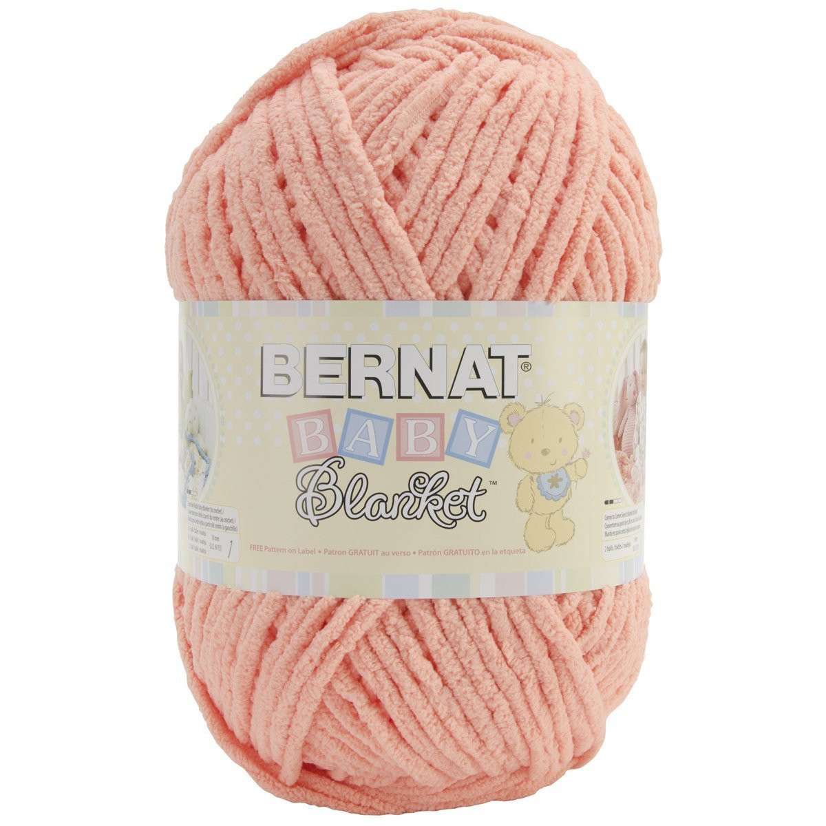 Bernat Baby Blanket Yarn New Bernat Baby Blanket Yarn In Baby Peach 300 Gram Skein Of Delightful 42 Models Bernat Baby Blanket Yarn