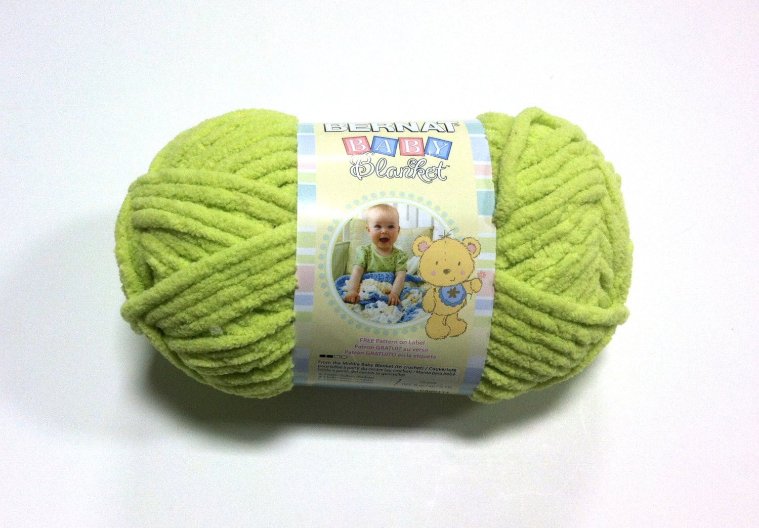 Bernat Baby Blanket Yarn New Bernat Baby Blanket Yarn In Lemon Lime New Color 3223 Of Delightful 42 Models Bernat Baby Blanket Yarn