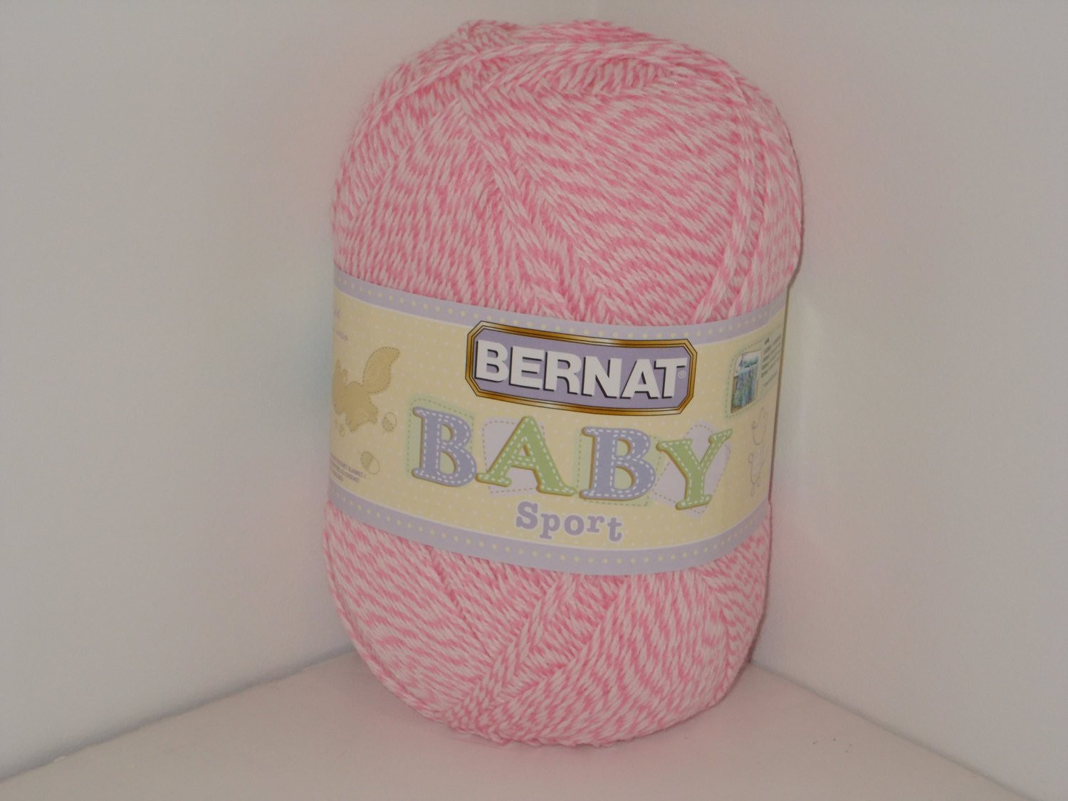 Bernat Big Yarn Beautiful Bernat Baby Sport Big Ball Yarn Baby Pink Marl 12 3oz 350g Of Fresh 49 Pics Bernat Big Yarn