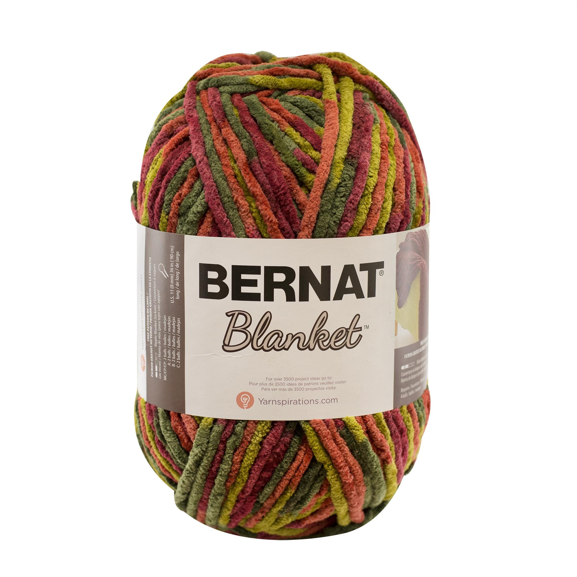 Bernat Blanket Big Ball Super Chunky Yarn Knitting Yarn