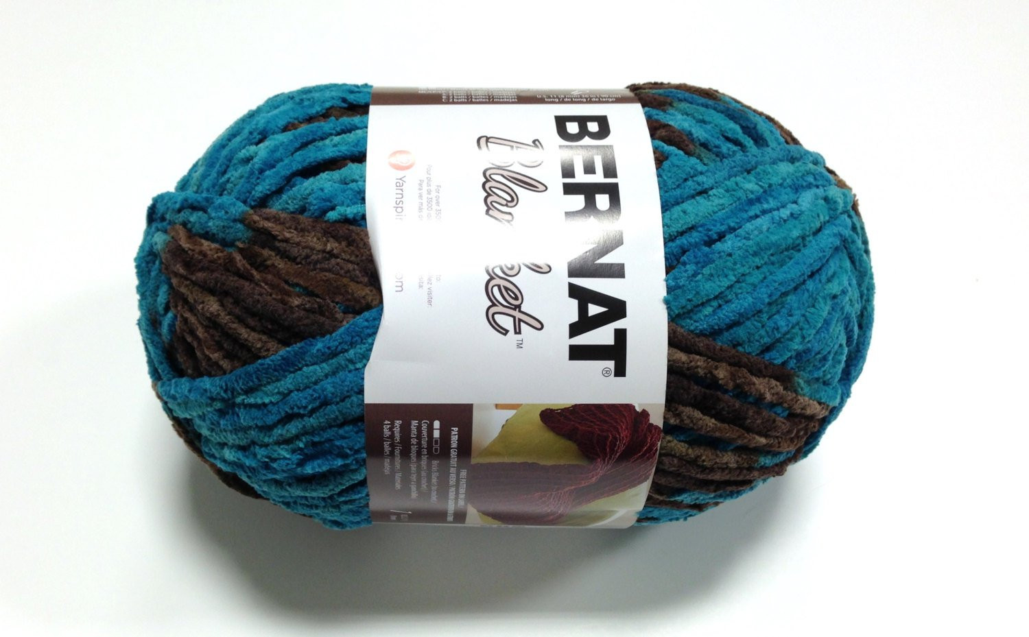Bernat Big Blanket Yarn Mallard Wood by