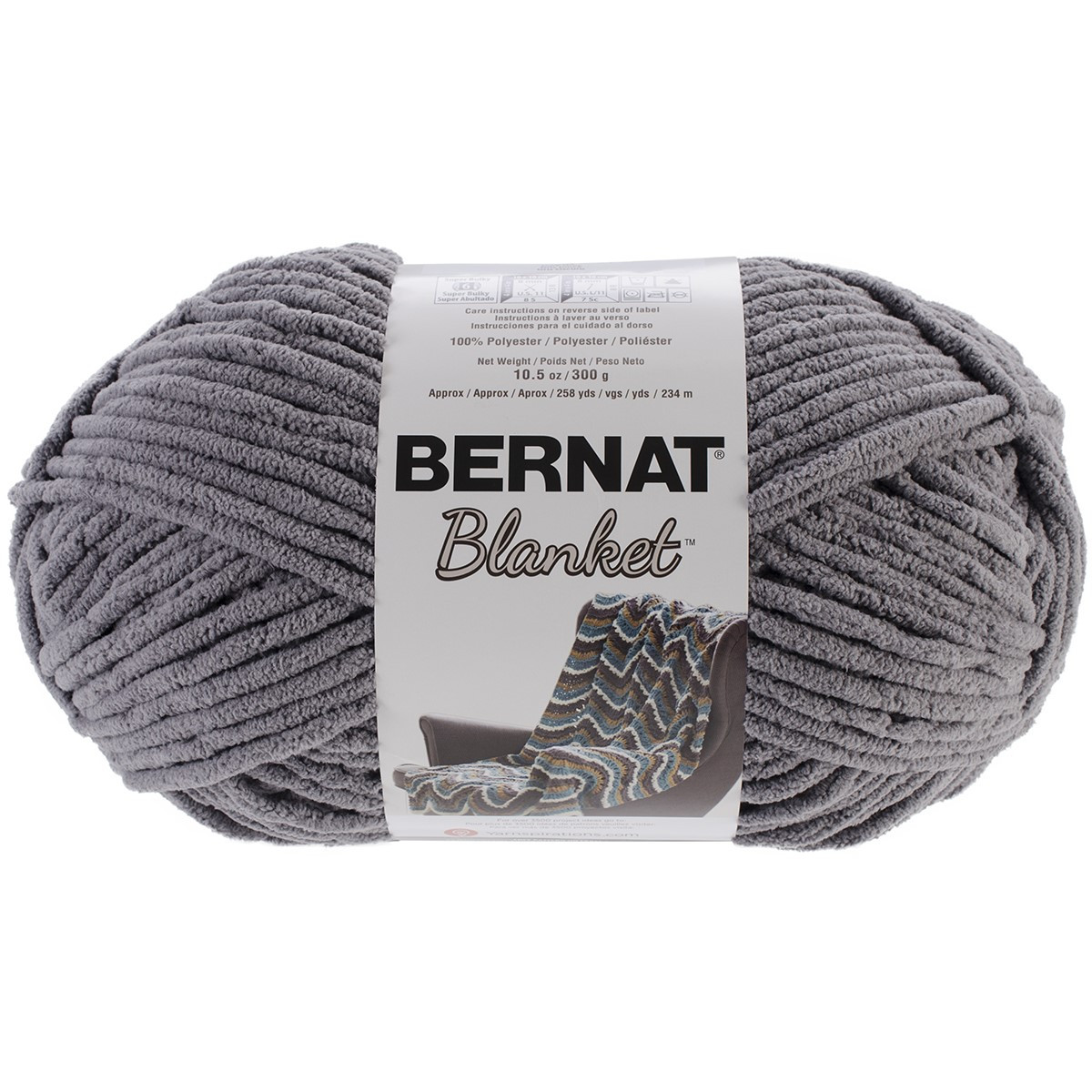 Bernat Big Yarn Luxury Bernat Blanket Big Ball Yarn Dark Grey Of Fresh 49 Pics Bernat Big Yarn