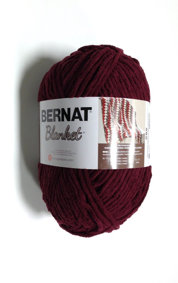 Bernat Big Yarn New Bernat Big Blanket Yarn In Purple Plum Skein 300 Of Fresh 49 Pics Bernat Big Yarn