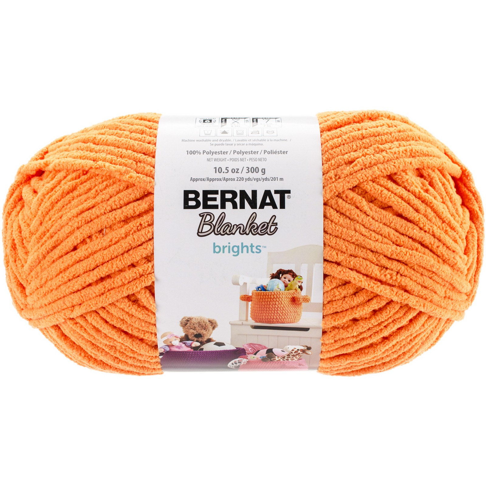 Bernat Big Yarn New Bernat Blanket Brights Big Ball Yarn Carrot orange Of Fresh 49 Pics Bernat Big Yarn