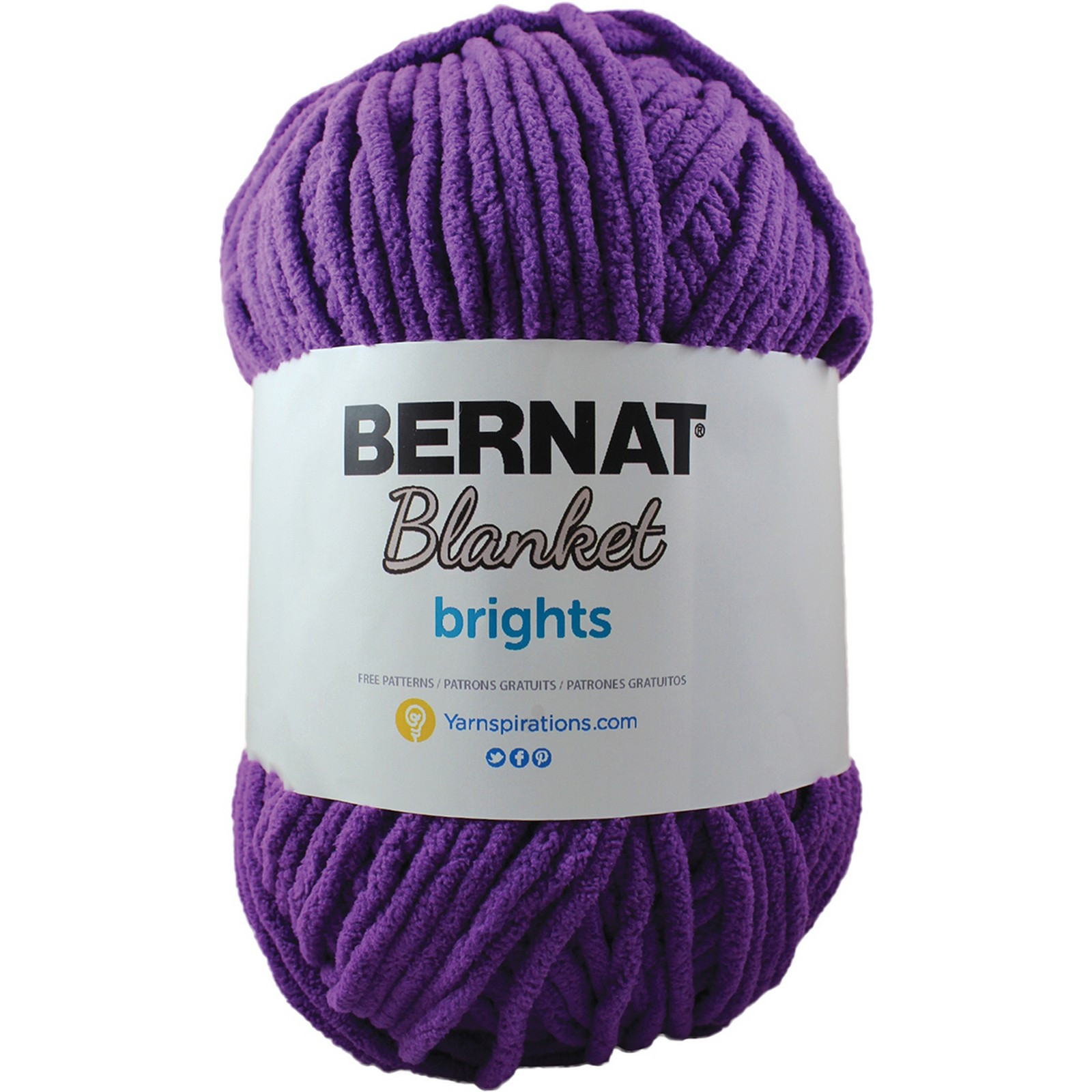 Bernat Blanket Big Ball Yarn Inspirational Bernat Blanket Brights Big Ball Yarn Pow Purple Of Innovative 41 Ideas Bernat Blanket Big Ball Yarn