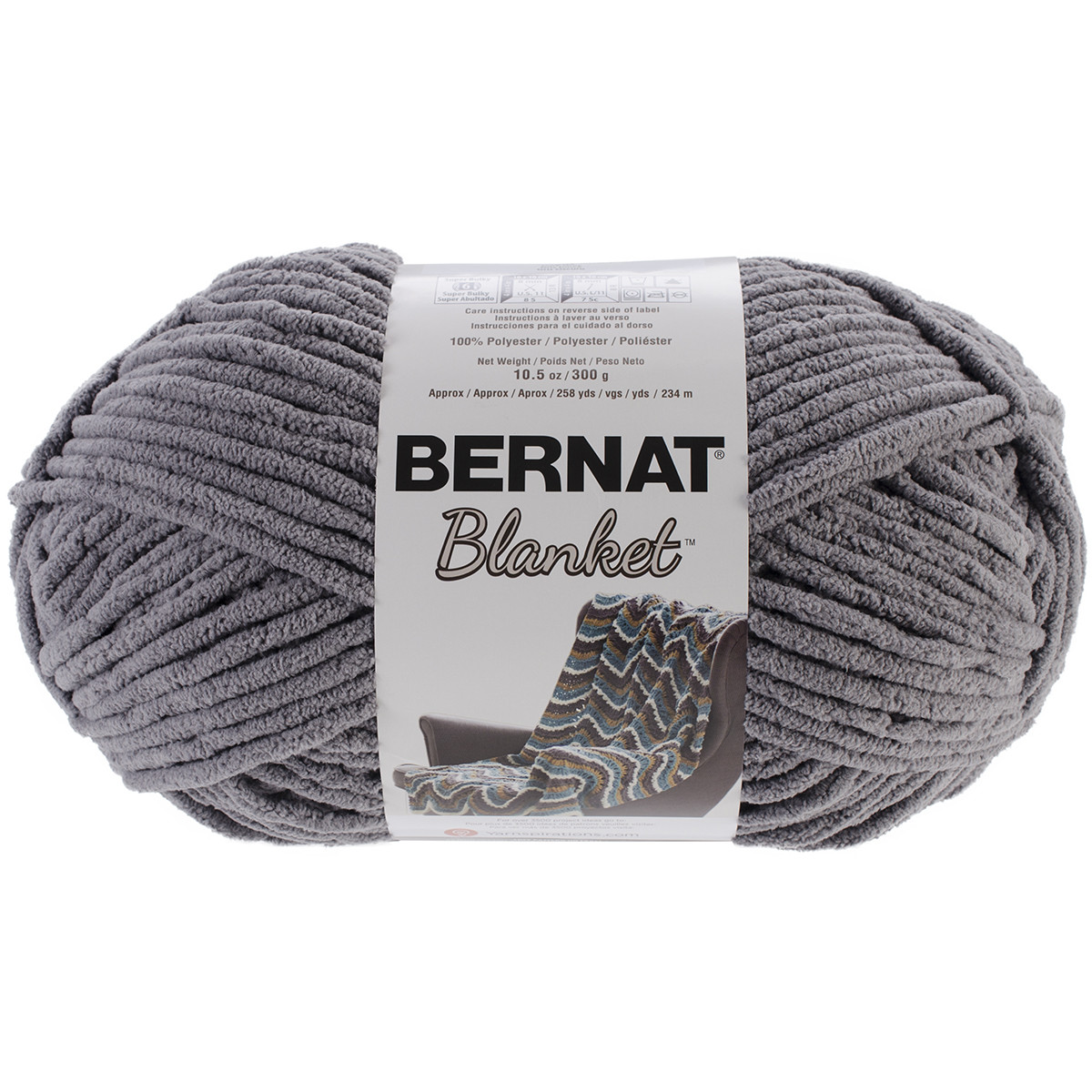 spinrite bernat blanket big ball yarn
