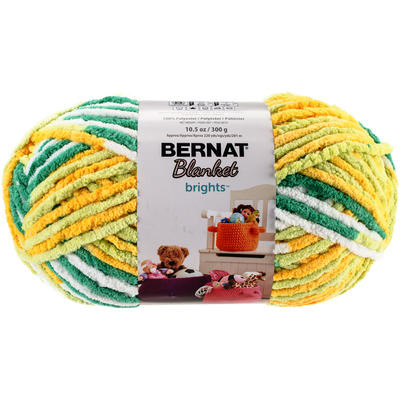 Bernat Blanket Big Ball Yarn Unique Bernat Blanket Brights Big Ball Yarn Lemonade Variegated Of Innovative 41 Ideas Bernat Blanket Big Ball Yarn