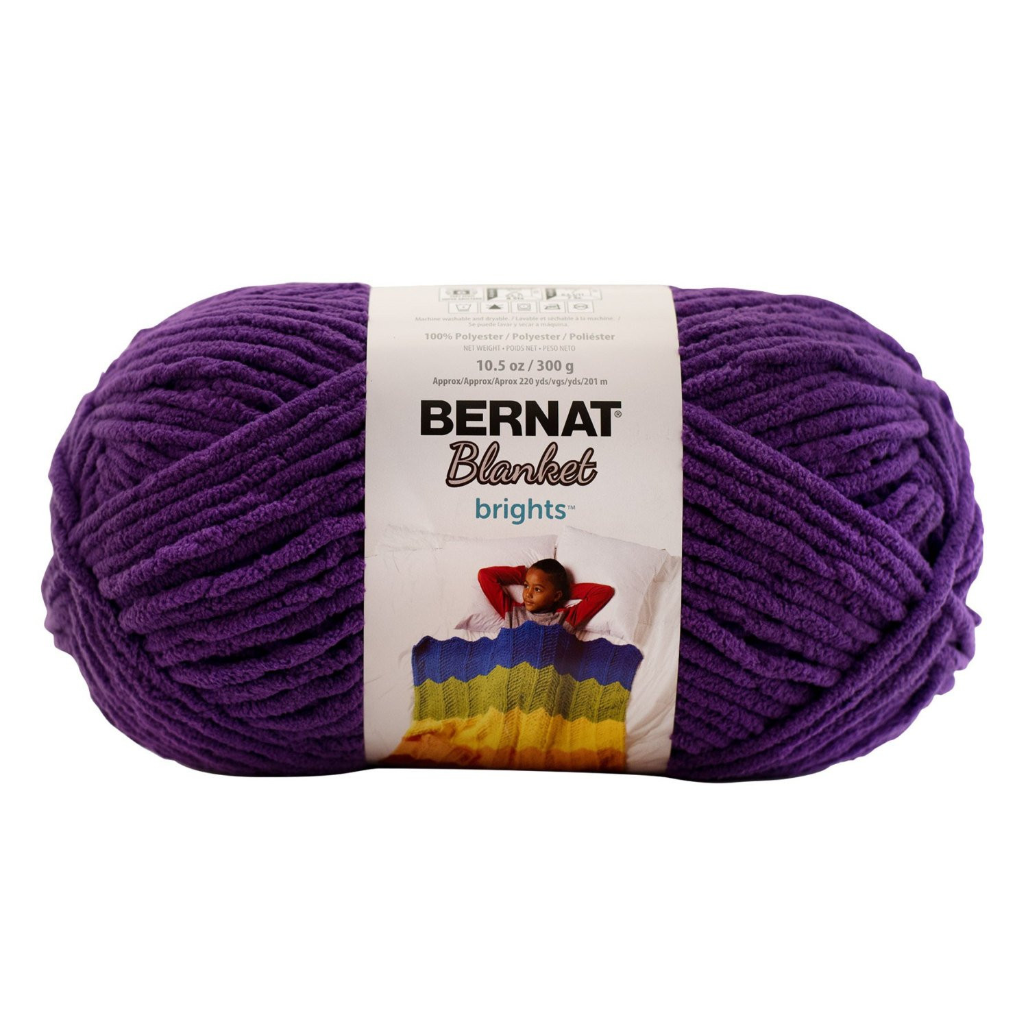 Bernat Blanket Brights Beautiful Bernat Blanket Brights Yarn Pow Purple Skein 300 Grams Of Amazing 42 Pictures Bernat Blanket Brights