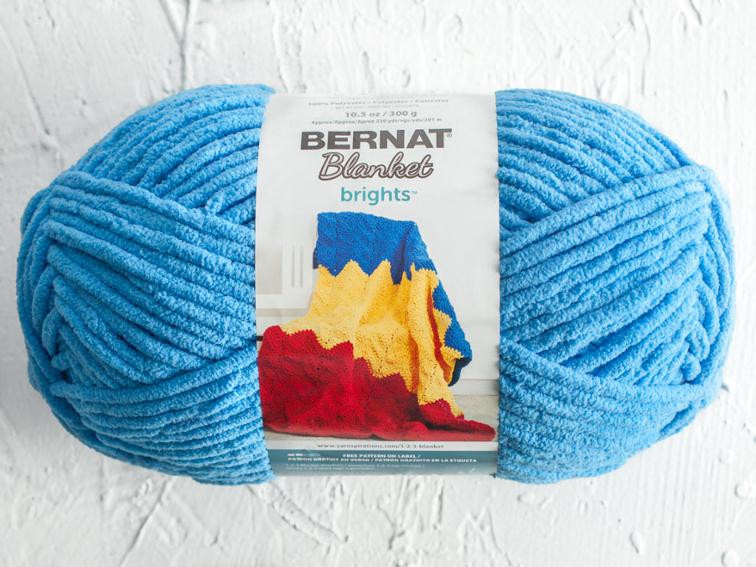 Bernat Blanket and Blanket Brights Yarn Big Ball 300g