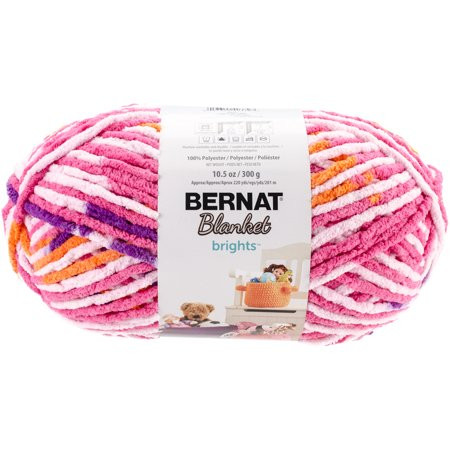 Bernat Blanket Brights Elegant Bernat Blanket Brights Big Ball Yarn Jump Rope Variegated Of Amazing 42 Pictures Bernat Blanket Brights