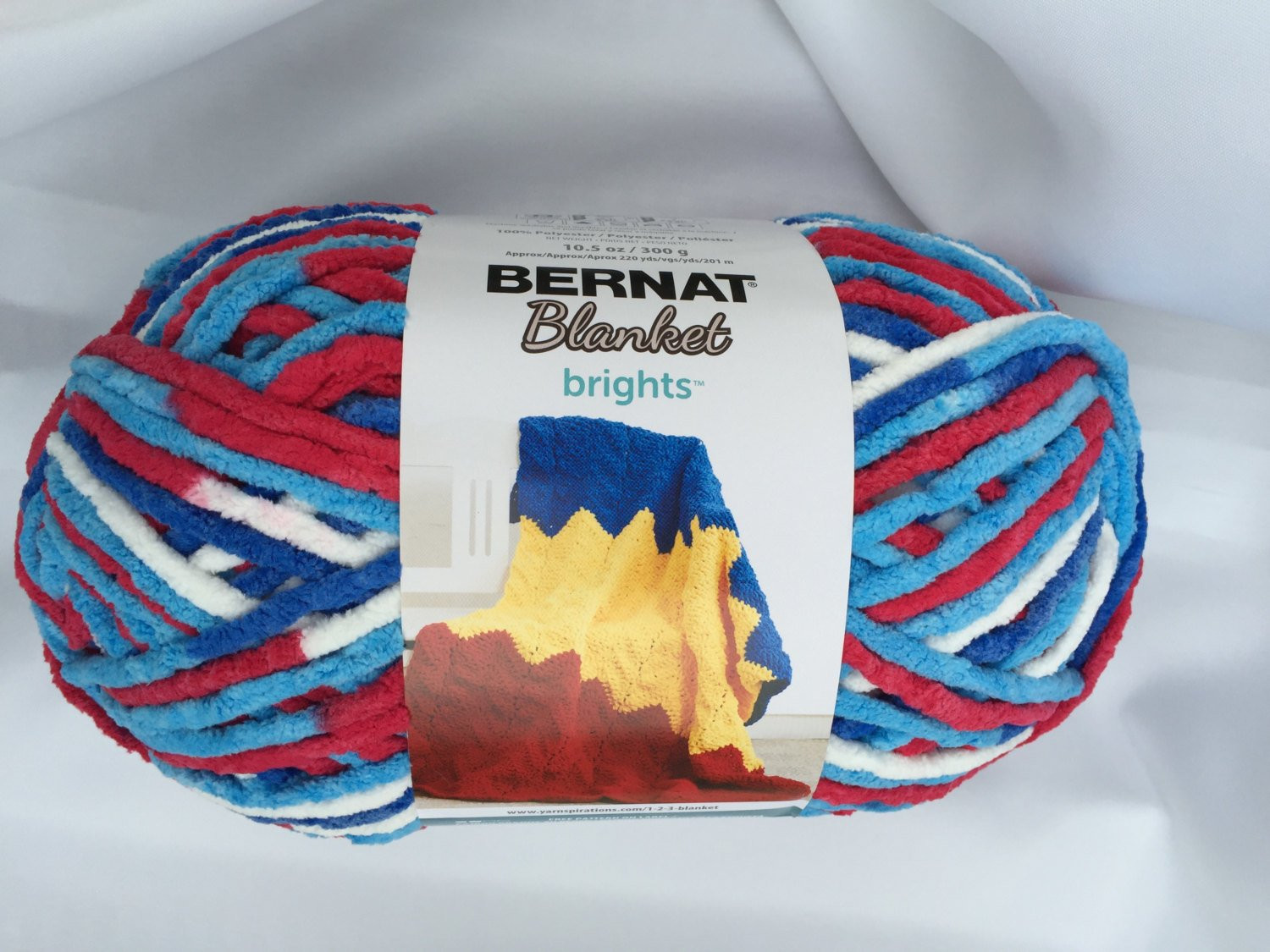 Bernat Blanket Brights Elegant Bernat Blanket Brights Red White & Boom Yarn Big 10 5 Of Amazing 42 Pictures Bernat Blanket Brights