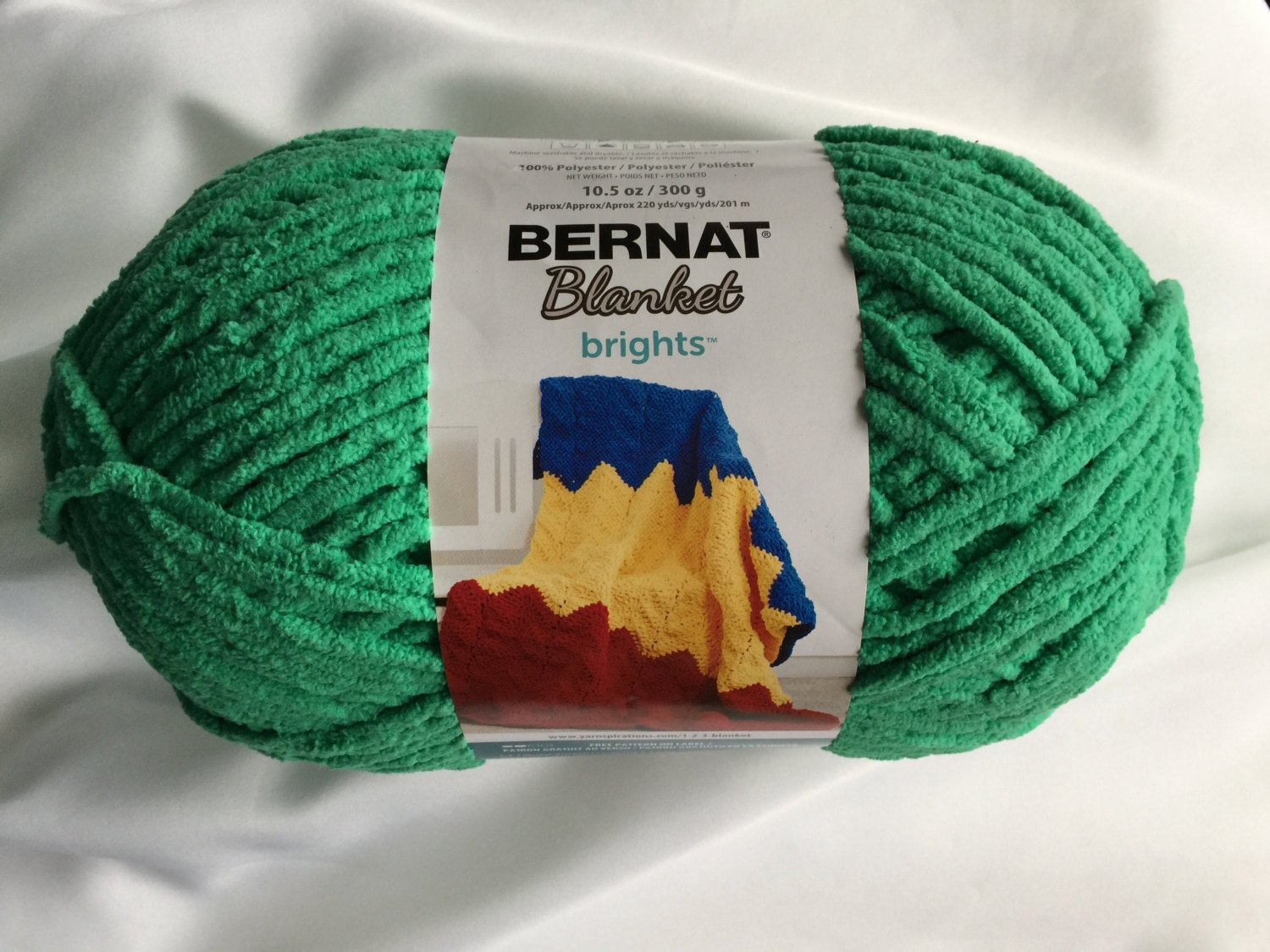 Bernat Blanket Brights Fresh Bernat Blanket Brights Go Go Green Yarn Big 10 5 Oz Of Amazing 42 Pictures Bernat Blanket Brights