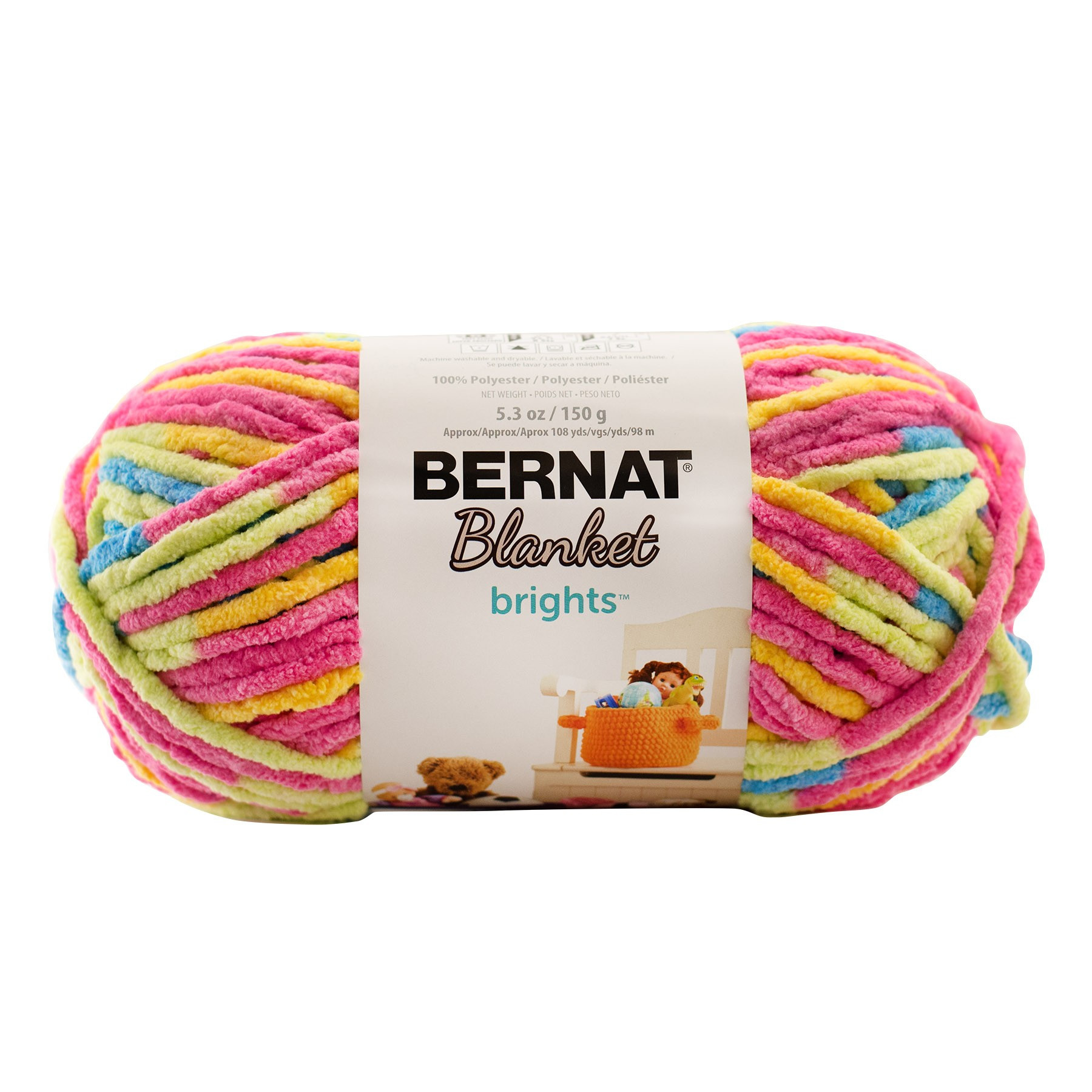 Bernat Blanket Brights Fresh Bernat Blanket Brights Knitting Yarn 150g Of Amazing 42 Pictures Bernat Blanket Brights