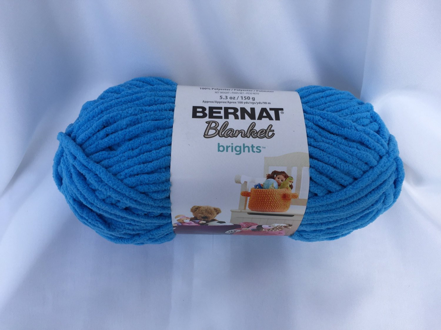 Bernat Blanket Brights Lovely Busy Blue Bernat Blanket Brights 150g 5 3 Oz Super Of Amazing 42 Pictures Bernat Blanket Brights