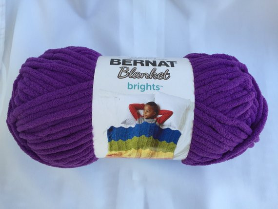 POW PURPLE Bernat Blanket Brights 150g 5 3 oz 108