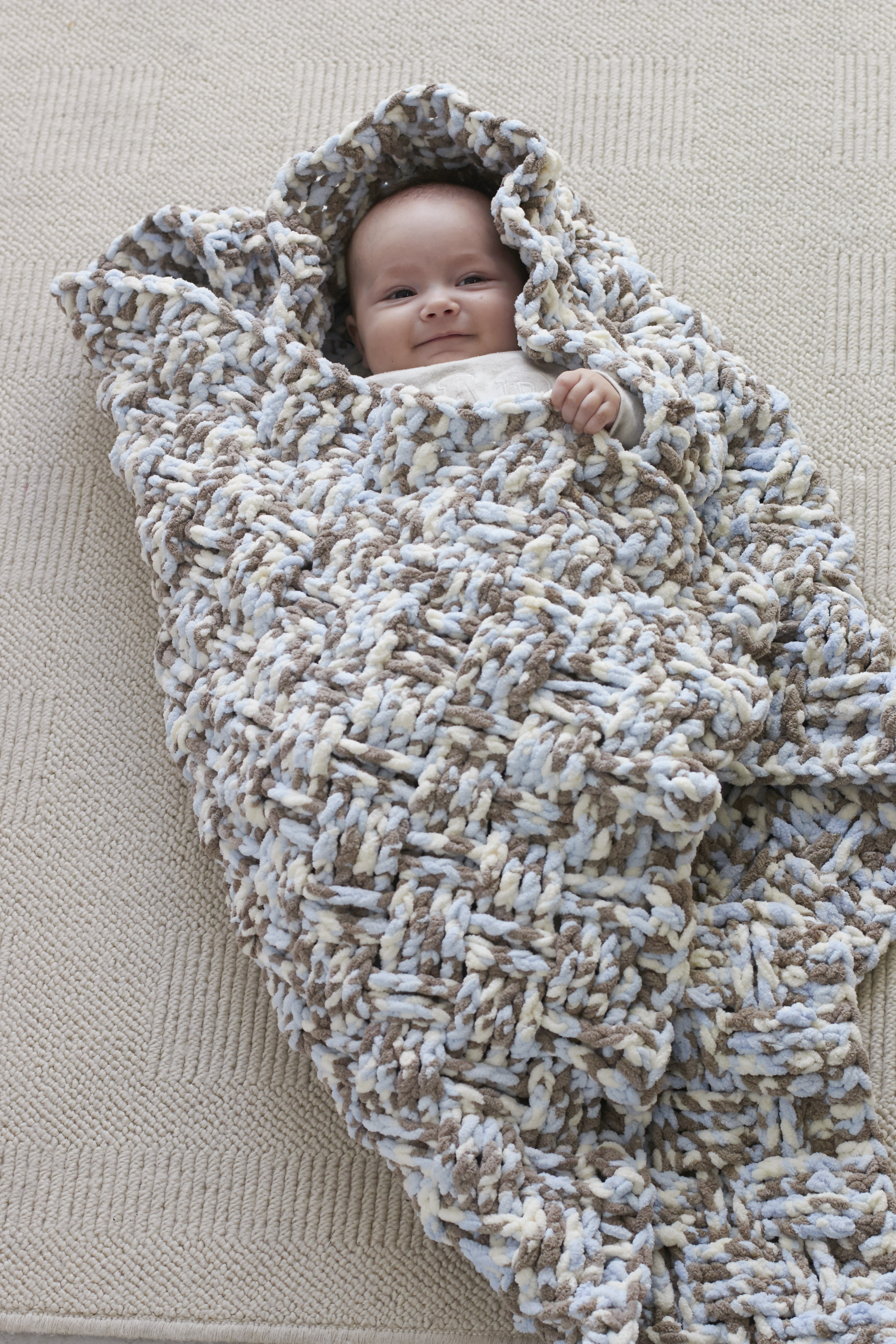 Bernat Blanket Yarn Awesome Dream Weaver Baby Blanket Vickie Howell Of Beautiful 42 Models Bernat Blanket Yarn