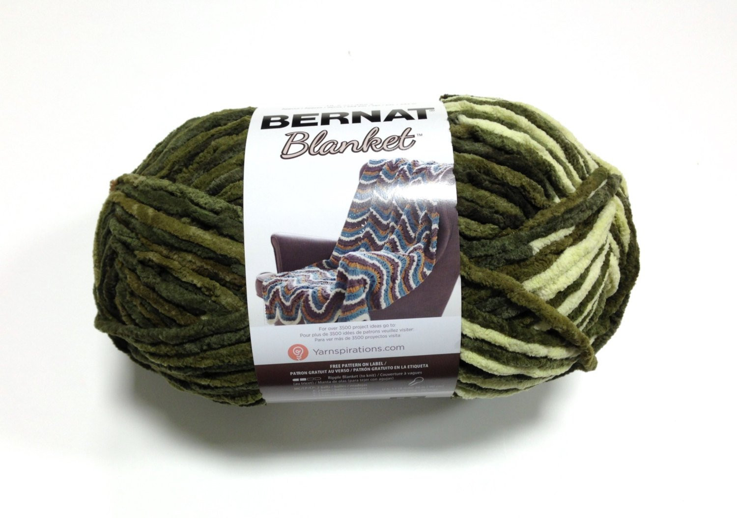 Bernat Blanket Yarn Elegant Bernat Blanket Yarn Gathering Moss Skein 300 Grams Of Beautiful 42 Models Bernat Blanket Yarn