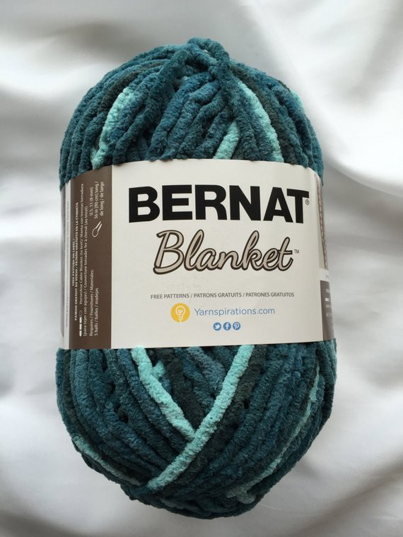 Bernat Blanket Yarn New Teal Dreams Bernat Blanket Yarn 10 5 Oz Skein 220 Of Beautiful 42 Models Bernat Blanket Yarn
