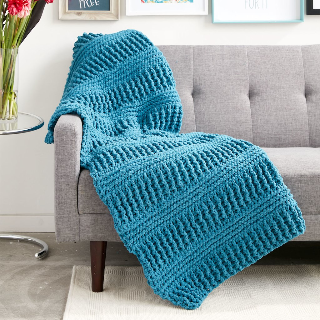 Bernat Blanket™ Here & There Crochet Blanket
