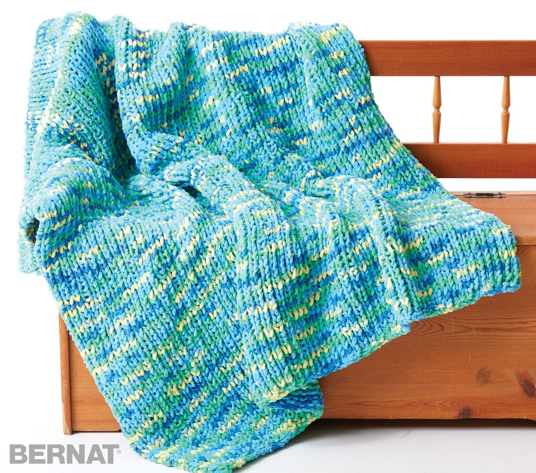Bernat Blanket Yarn Patterns Luxury Bernat Supersquish Knit Blanket Knit Pattern Of New 42 Photos Bernat Blanket Yarn Patterns
