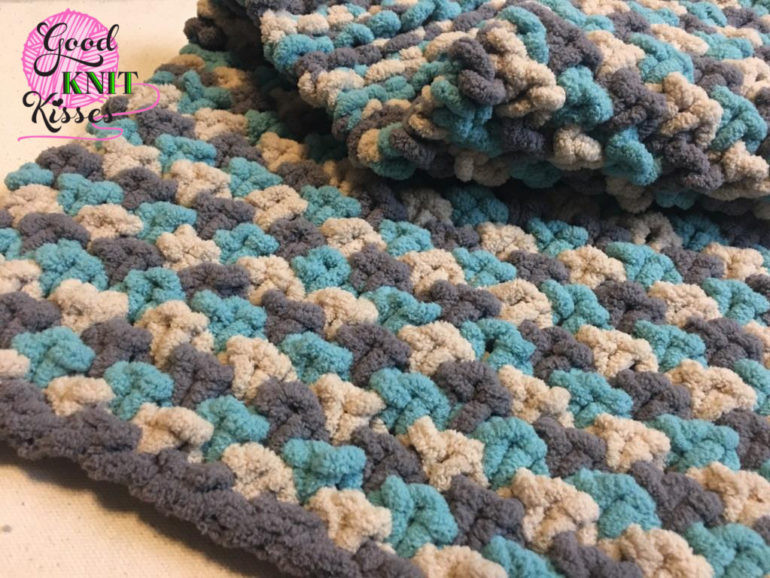 Bernat Blanket Yarn Patterns New 2017 Bernat Blanket Stitch Along Clue 4 Goodknit Kisses Of New 42 Photos Bernat Blanket Yarn Patterns