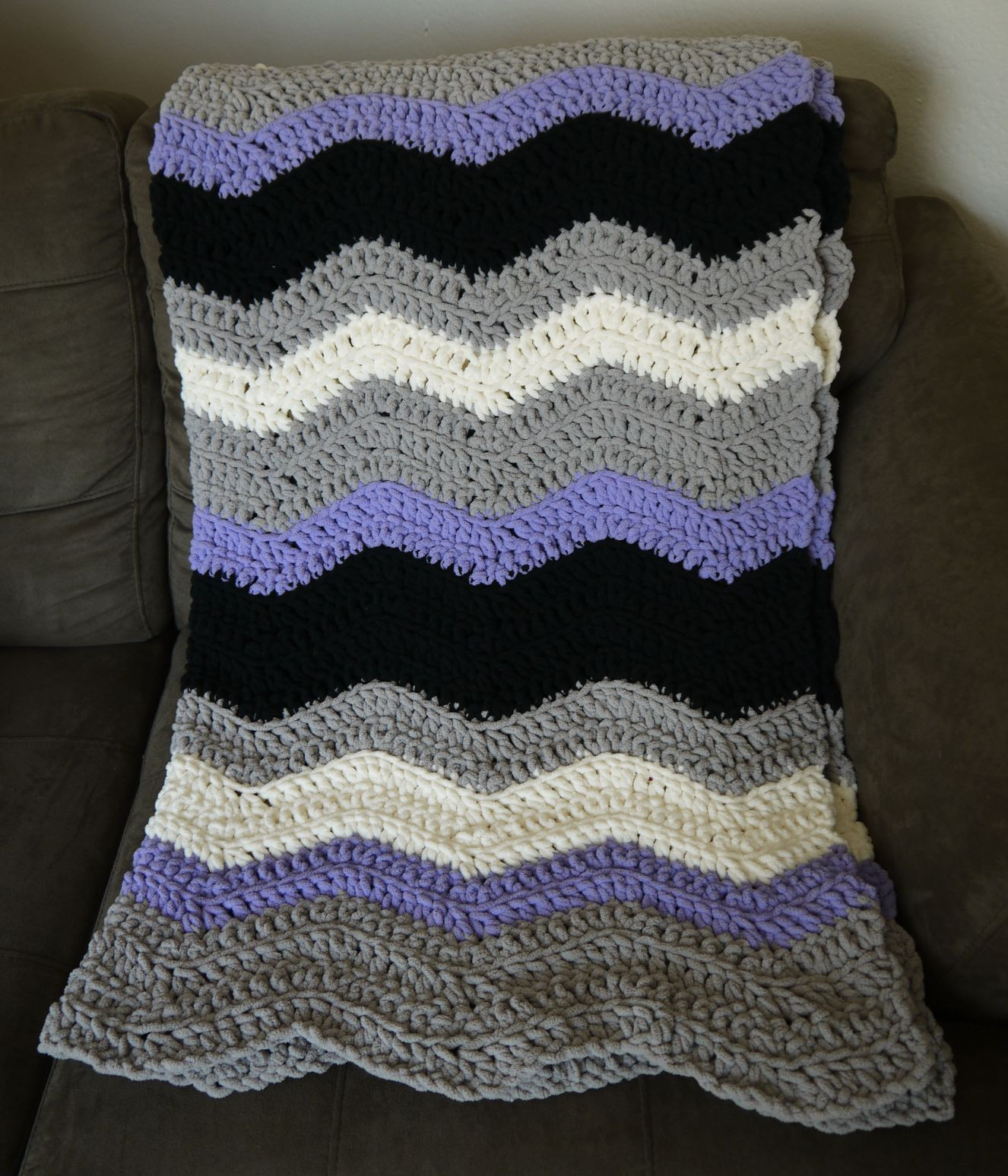 Bernat Blanket Yarn Patterns New Chevron Blanket Crochet Pattern with Bernat Blanket Yarn Of New 42 Photos Bernat Blanket Yarn Patterns