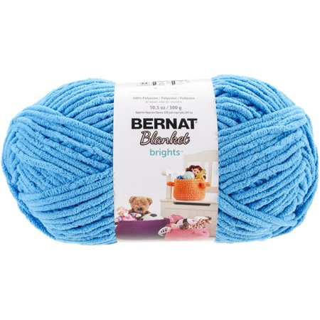Bernat Chunky Yarn Big Ball Awesome Bernat Blanket Brights Big Ball Yarn Busy Blue Walmart Of Top 43 Pictures Bernat Chunky Yarn Big Ball