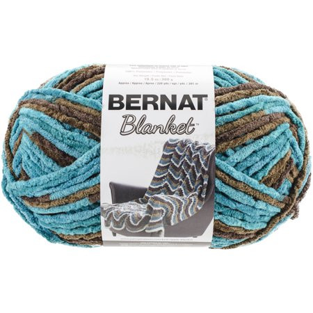 Bernat Blanket Big Ball Yarn Mallard Wood Walmart