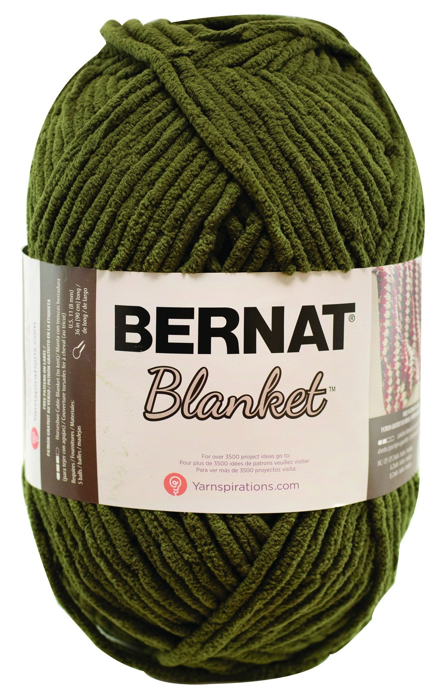 Bernat Chunky Yarn Big Ball Luxury Bernat Blanket Yarn 10 5 Ounce Olive Single Ball Big Ball Of Top 43 Pictures Bernat Chunky Yarn Big Ball