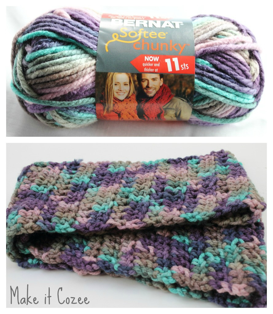 Make it Cozee Chunky Scarf in Shadow Ombre