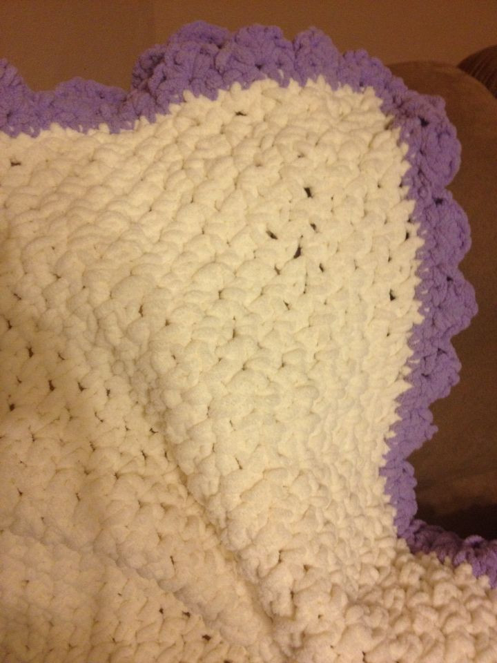 Bernat Crochet Baby Blanket Fresh A Baby Blanket that I Crocheted for My Second Daughter Of Wonderful 44 Models Bernat Crochet Baby Blanket