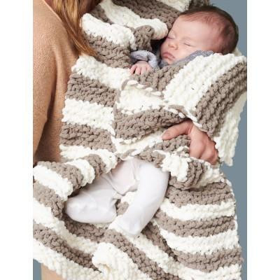 Bernat Baby Blanket In A Wink Blanket – Knitting Warehouse